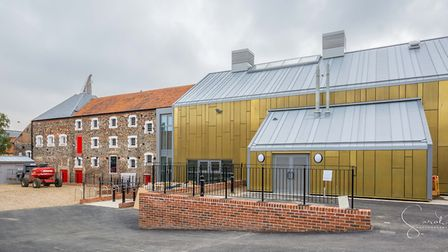 Old meets new, the Wells Maltings building at Wells-next-the-sea PHOTO: Sarah Toon Photography