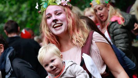 Family rave events are aimed at children up to eight years old - and their families but older siblin