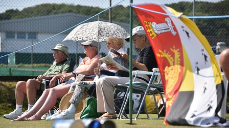 Tennis Summer County Cup at Cromer Tennis and Squash Club. Norfolk v Yorkshire.Picture: ANTONY KELLY