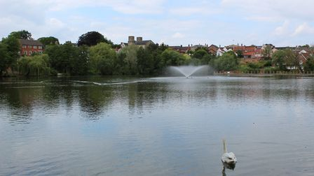The Mere in Diss. Picture: Marc Betts