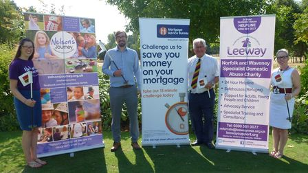 Charities will team up for a golf day fundraiser in September. PHOTO: Leeway