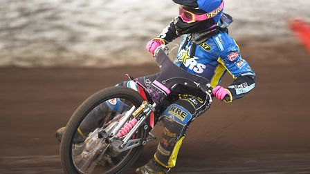 Thomas Jorgensen suffered an ankle problem at Poole Picture: Ian Burt