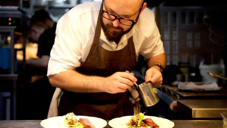 Richard Bainbridge is among the celebrity chefs who will be demonstrating their skills. Picture: Kat