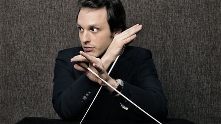 Victor Aviat, who conducted the Bournemouth Symphony Orchestra Picture: Harald Hoffman
