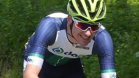 Harley Matthews, who was top rider in the DAP CC that leads the Eastern Road Race League team rankin