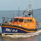 Lifeboats from Goleston and Caister were dispatched around 8pm after a cruise ship found three men i