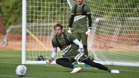 New number one Tim Krul - a good addition to the squad Picture: ANTONY KELLY