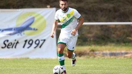 Russell Martin has one year left on his contract at Norwich City. Picture: Paul Chesterton/Focus Ima