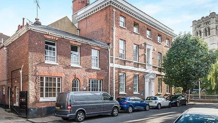 The Upper St Giles apartment, for sale. Pic; www.abbotts.co.uk