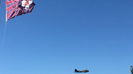 Taking pictures of aircraft at an airshow isn't as easy as I thought. Picture Jo Malone