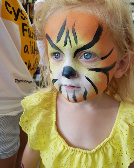 A fundraising and awareness day was held for the Cystic Fibrosis Trust at Thetford Garden Centre. Ph