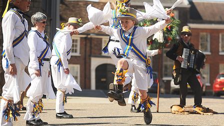 The King's Morris will be performing at the Folk in the Town festival in King's Lynn Picture: Ian Bu