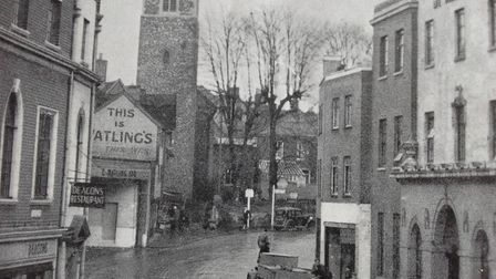 The way it was in Westlegate, Norwich, of 1948. Picture: Archant Library