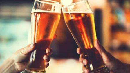 The average cost of a pint of beer is cheaper in Suffolk than it is in Norfolk, according to a new p