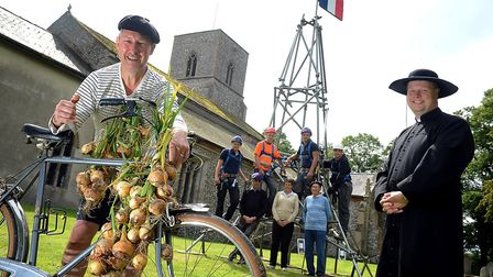 A french fair is being held at Great Bircham Church Picture; Matthew Usher.