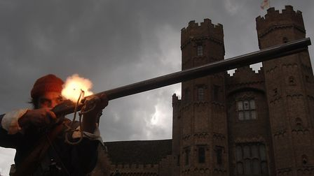 Re-enactment weekend being held at Oxburgh Hall Picture: Matthew Usher