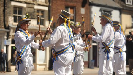 The King's Morris will be performing at the Folk in the Town festival Picture: Ian Burt