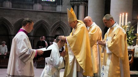 Academic and former prison chaplain, Andrew Eburne,has become the first parishioner from St John the