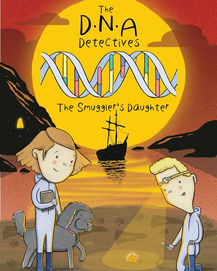The cover of Dr Mandy Hartley's new book in the DNA Detectives series. PHOTO: Dr Mandy Hartley