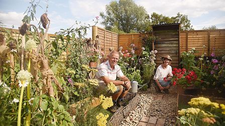 The Allotment to Back Yard designed by Linda and Ralph Nichols. Picture: Ian Burt