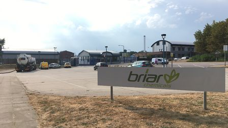 Police were called to Briar Chemicals on Sweet Briar Road at about 3.10pm on Friday (July 27) to rep