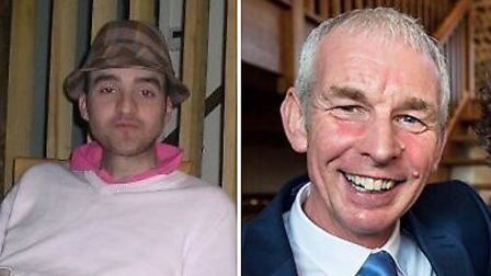 29-year-old Daniel Timbers (left) and 56-year-old Barry Joy (right). Picture: Norfolk Police