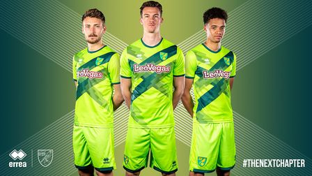 Norwich City Football Club has today revealed its new third kit for 2018/19 season. Photo: Norwich C