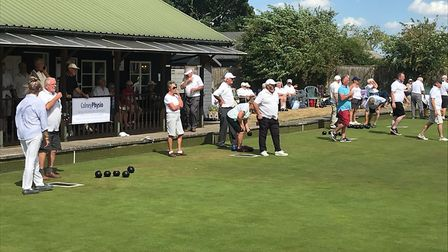 Saturday July 28 saw 24 teams from clubs across the region enter the annual Triples Tournament at He