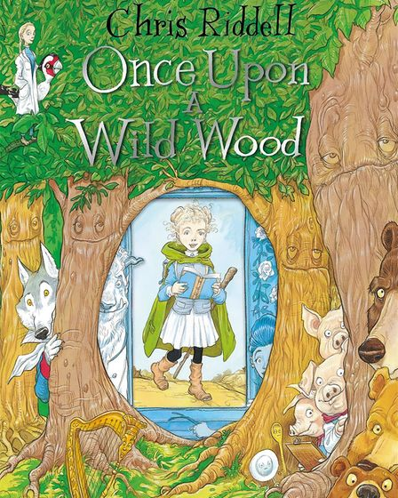 The cover of Once Upon a Wild Wood by Chris Riddell. PHOTO: Norfolk County Council
