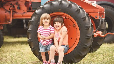 The Little Ellingham Vintage Working Show is moving into it's 17th year. Pictured are sisters Molly