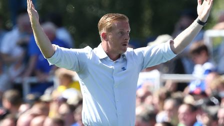 Birmingham manager Garry Monk during his team's 2-2 draw with Norwich Picture: Paul Chesterton/Focus