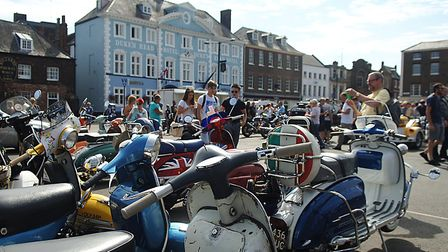 Mods and Rockers 2018 at King's Lynn Picture: Chris Bishop