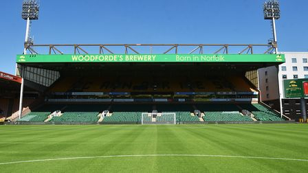 Carrow Road awaits Norwich City - they have not kicked a ball there in anger since April. Picture: A