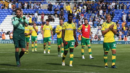 City's players applaud the travelling support at St Andrew's. Picture: Paul Chesterton/Focus Images