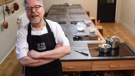 Richard Hughes, of The Assembly House, will be judging Holden Renaults Cake Bake Off competition. Pi
