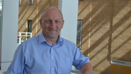 Dave Willey, deputy admin manager at NNUH, who has joined the trust after 38 years in the RAF. Photo