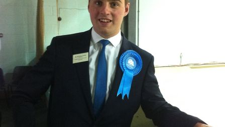 South Norfolk councillor Jack Hornby. Picture: Michelle Finch