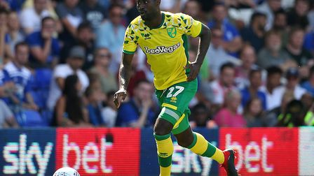 Alex Tettey missed most of pre-season but managed 90 minutes for City against Birmingham Picture: Pa