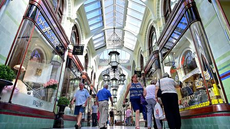 Retail sales in July were up just 0.5% compared with a year earlier, according to BRC and KPMG. Pict