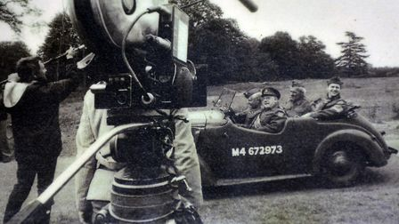 Bressingham Steam Museum have a collection of memorabillia and vehicles from Dad's Army. Pictured is