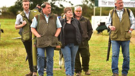 The clay shoot is hoping to raise thousands. PHOTO: Nick Butcher