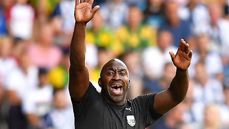West Brom boss Darren Moore is hugely popular among Baggies supporters Picture: Dave Howarth/PA Wire