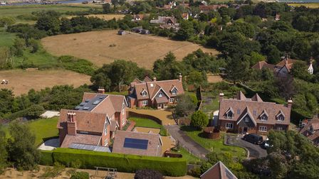 The three new homes at Harbour View. Pic: www.savills.co.uk