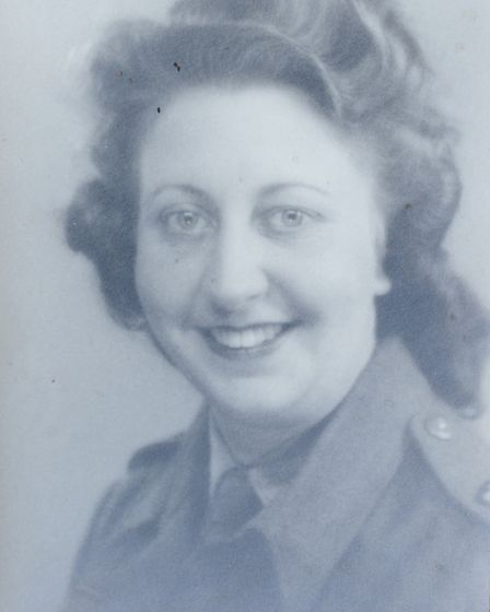 Cromer 90 year old Margaret Dickinson who was a nurse at a hospital just after D-Day. She nursed a G