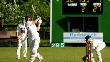 Stephen Gray led the way as Swardeston won at Burwell and Exning to keep the pressure on leaders Sud