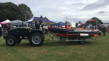 Fun and games at the Mundesley Inshore Lifeboat Boat Day. Picture: Archant