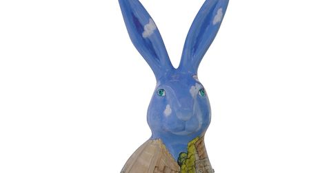GoGoHare: Holly Hare. Photo: Lee Blanchflower