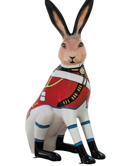 GoGoHare: Marching Hare. Photo: Lee Blanchflower