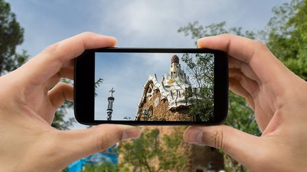 Exploring Park Guell PICTURE: Getty Images
