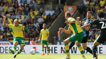 Teemu Pukki scored City's second goal during a 4-3 home loss to West Brom Picture: Paul Chesterton/F